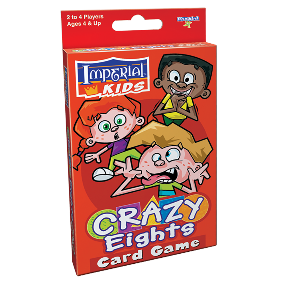 Crazy Eights Kids Card Game