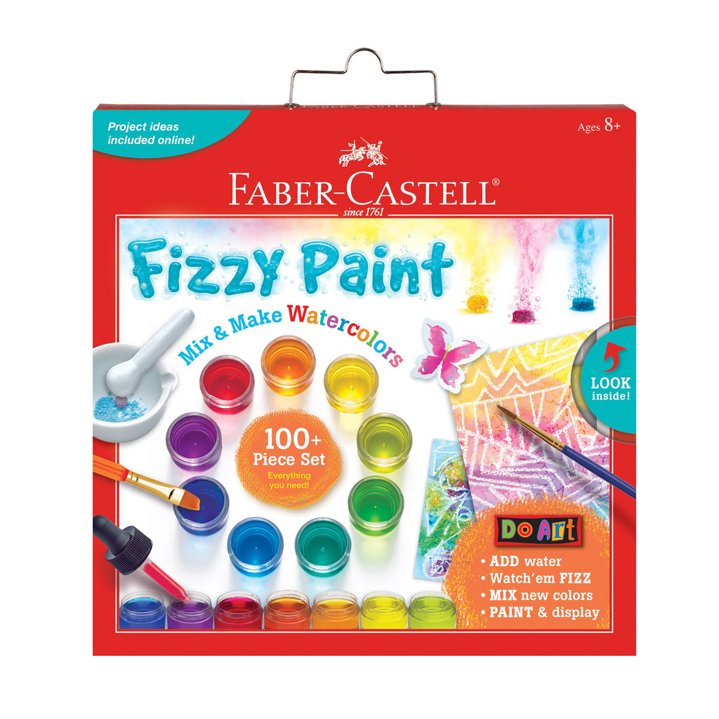 Do Art Fizzy Paint Mix and Make Colors