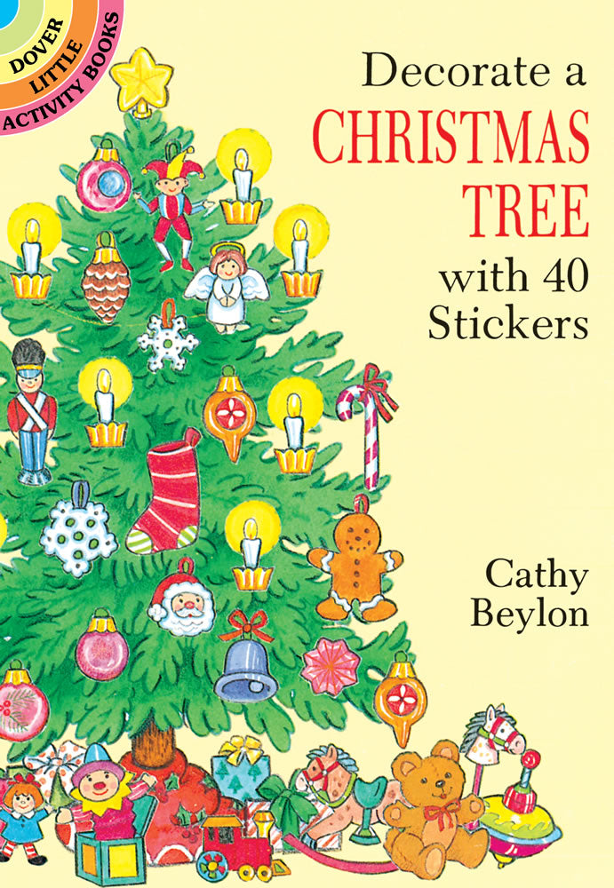 Decorate a Christmas Tree Sticker Book