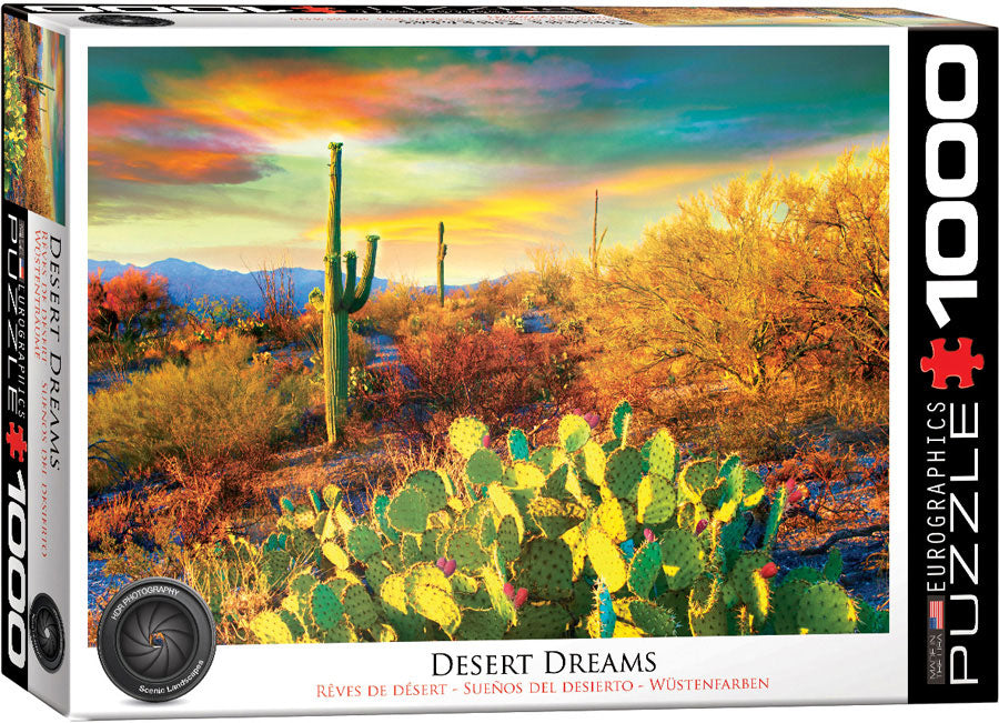 Eurographics Desert Dreams 1000 Piece Jigsaw Puzzle