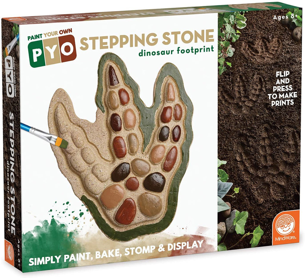 PYO Dinosaur Foot Print Stepping Stone