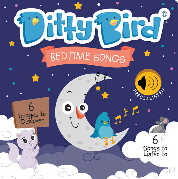 Ditty Bird Bedtime Songs Talking Book