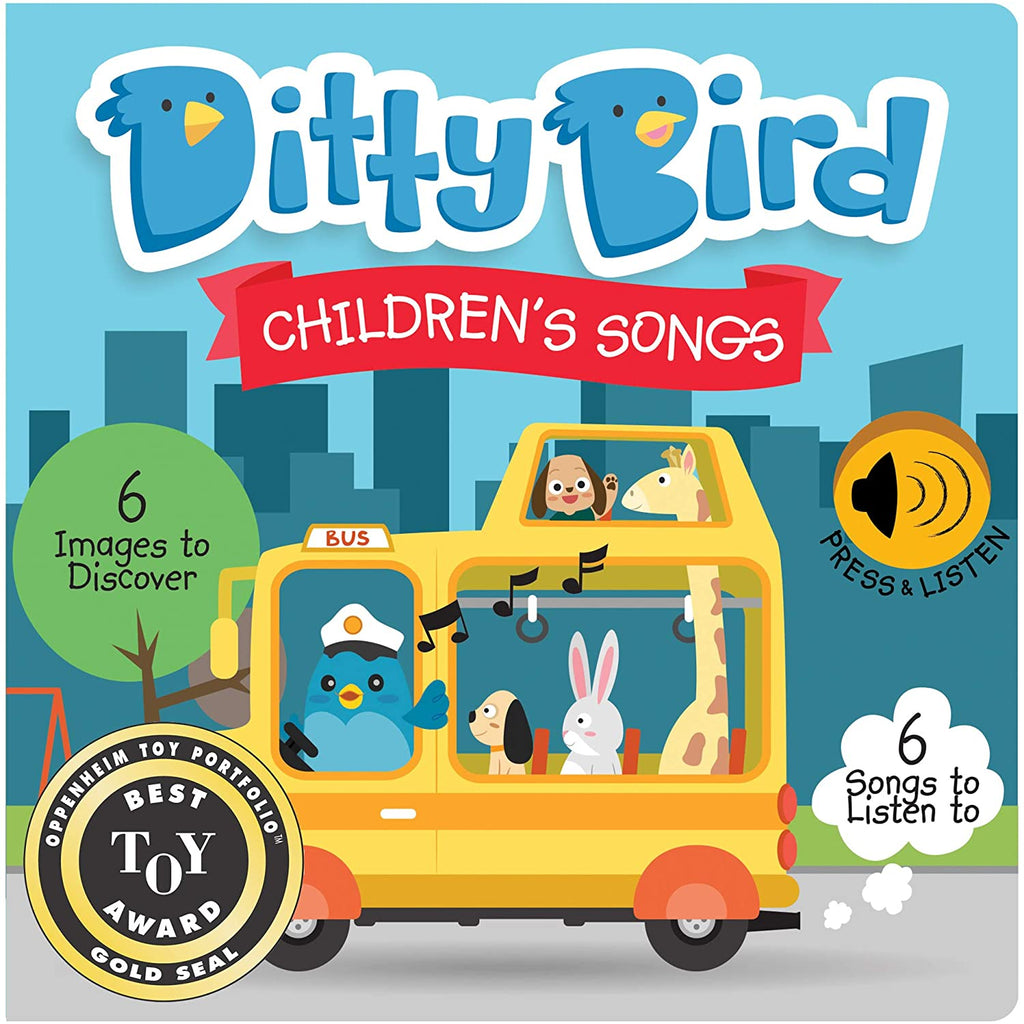 Ditty Bird Children's Songs Talking Book