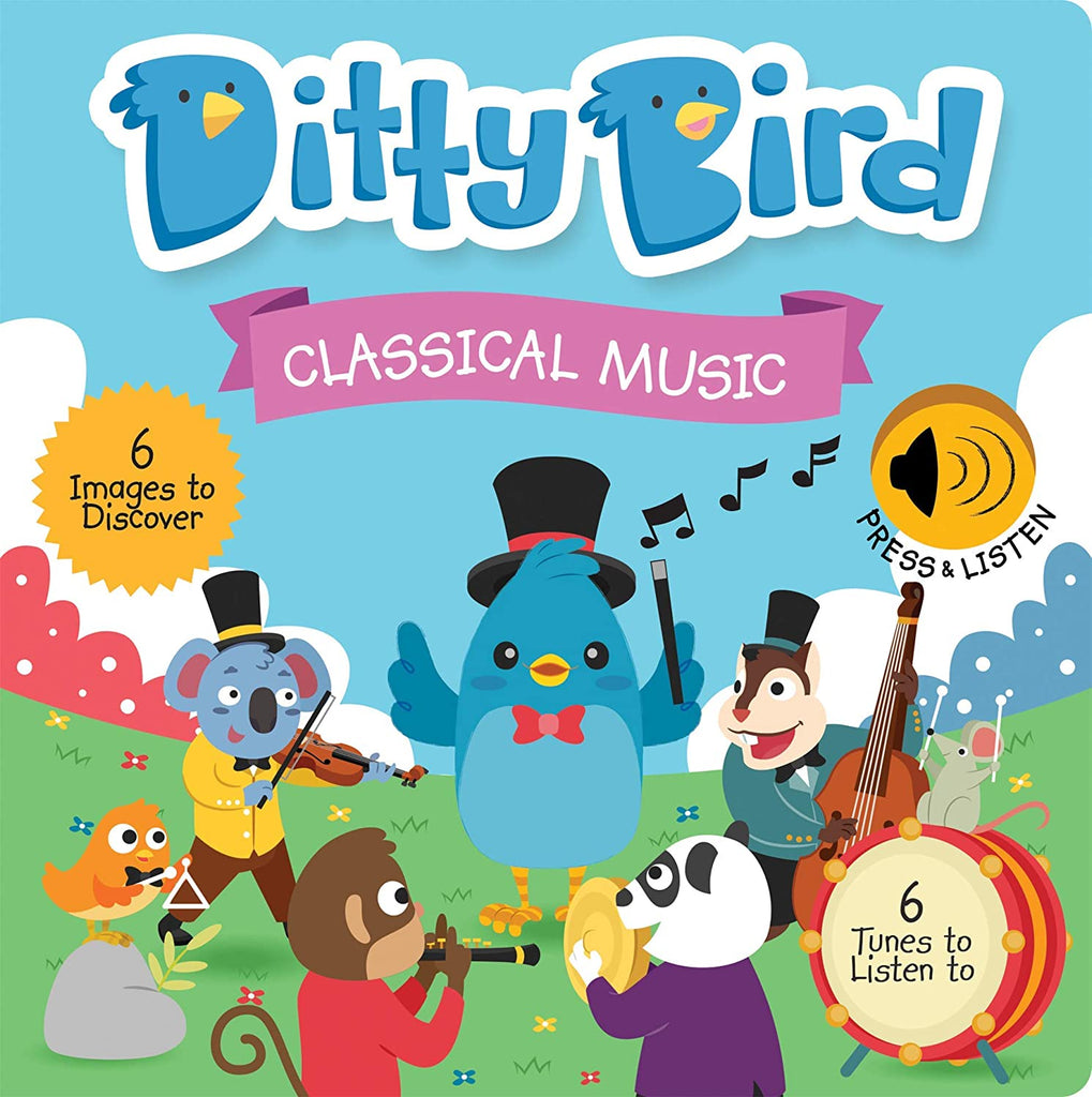 Ditty Bird Classical Music Talking Book