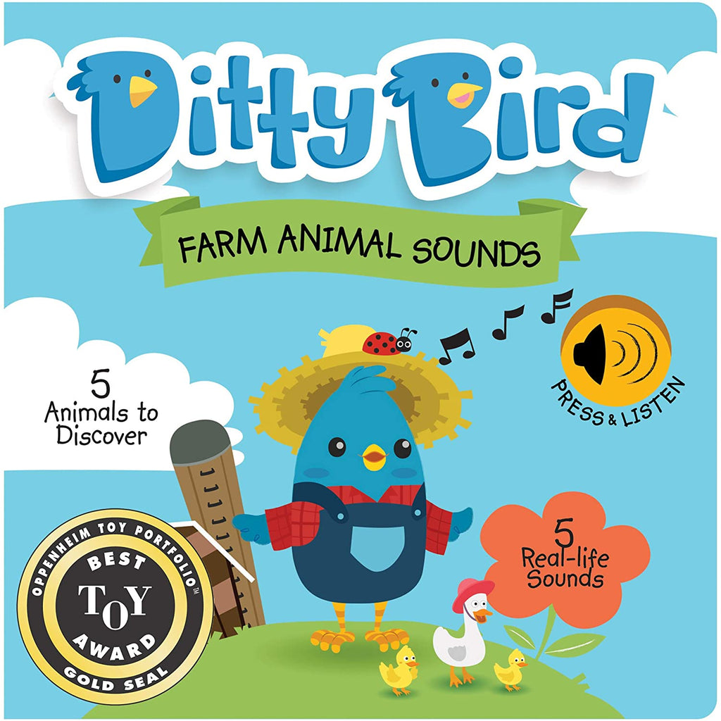 Ditty Bird Farm Animals Talking Book