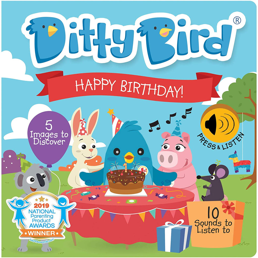 Ditty Bird Happy Birthday Talking Book