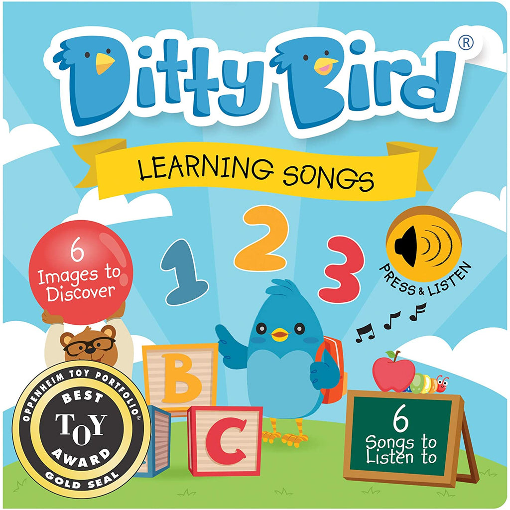 Ditty Bird Learning Songs Talking Book