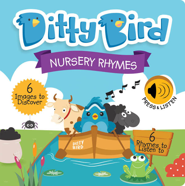 Ditty Bird Nursery Rhymes Talking Book