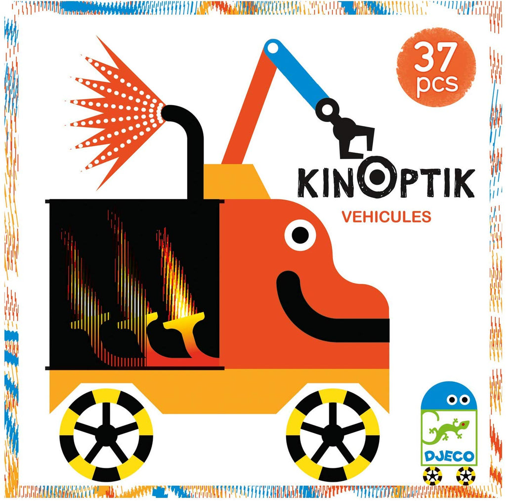 Djeco Vehicles Kinoptik Puzzle