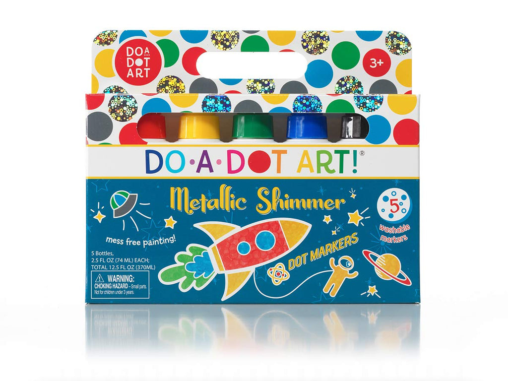 Do A Dot Art Metallic Shimmer Dot Markers 5 Pack