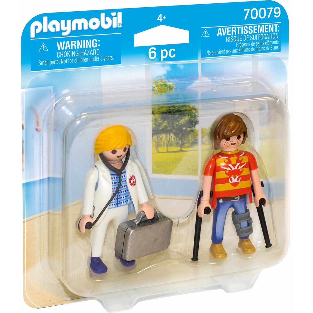 Playmobil 70079 Doctor and Patient