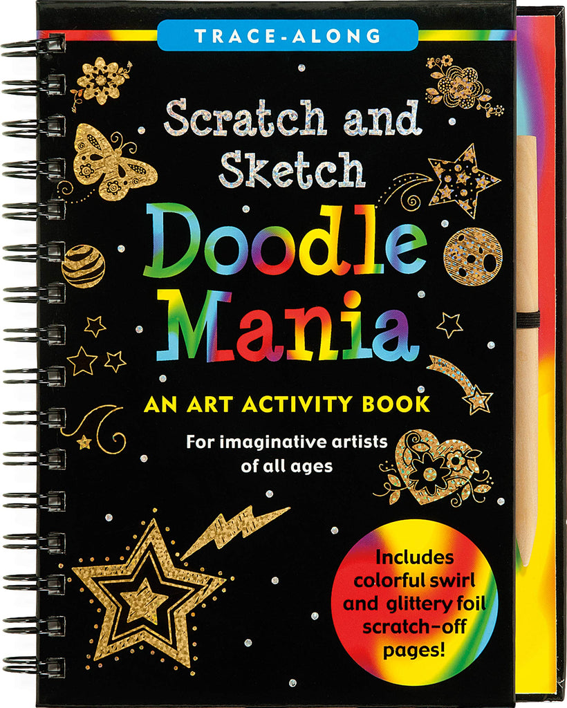 Doodle Mania Scratch and Sketch