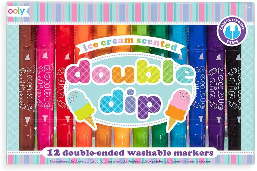 Ooly Double Dip Double Ended Scented Markers
