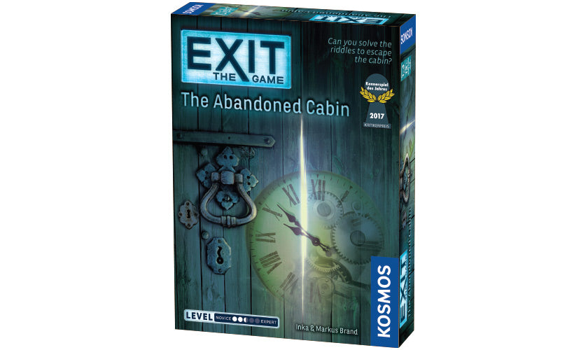 Exit: Abandoned Cabin Escape Game