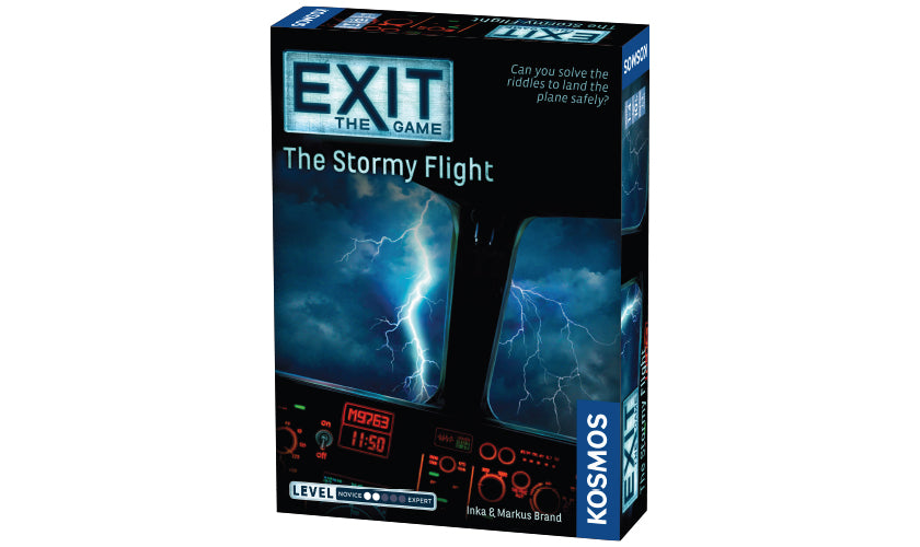 Exit: The Stormy Flight Escape Game