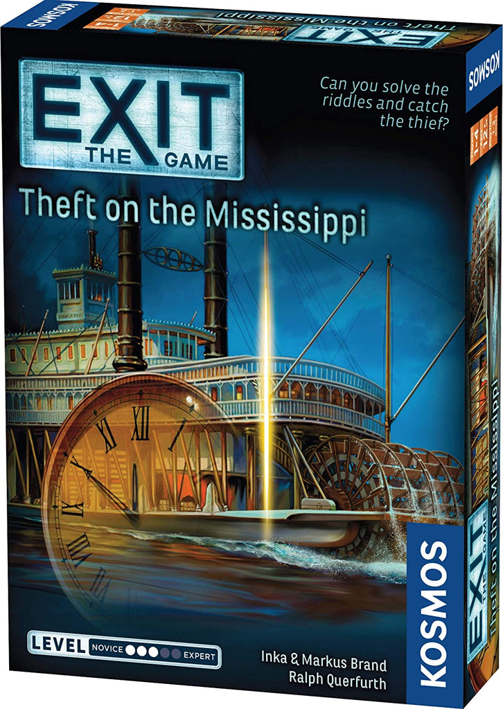 Exit: Theft on the Mississippi Escape Game
