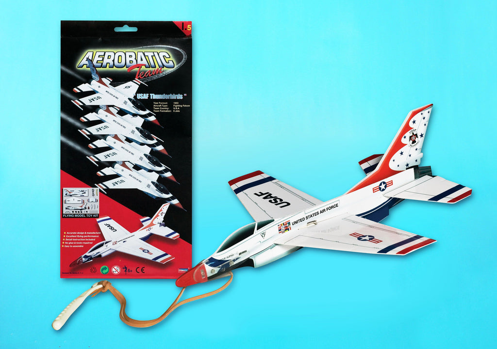 F16 Fighting Falcon USAF Thunderbirds Catapault Launched Glider
