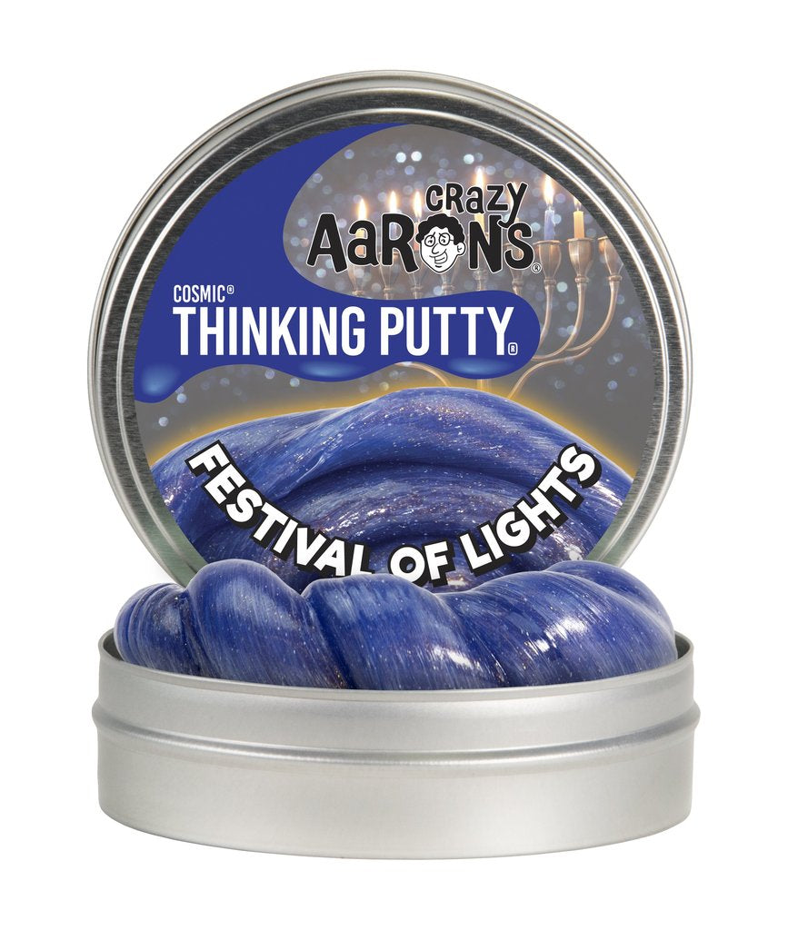 Crazy Aaron Festival of Lights Thinking Putty