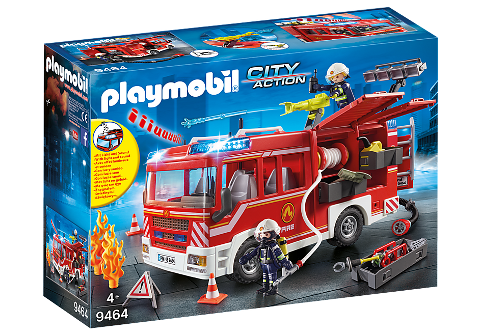 Playmobil 9464 Fire Engine Pumper