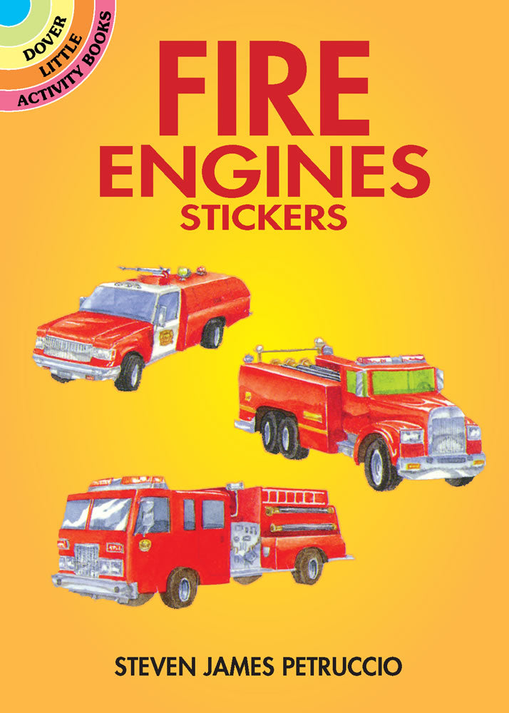 Fire Engine Stickers