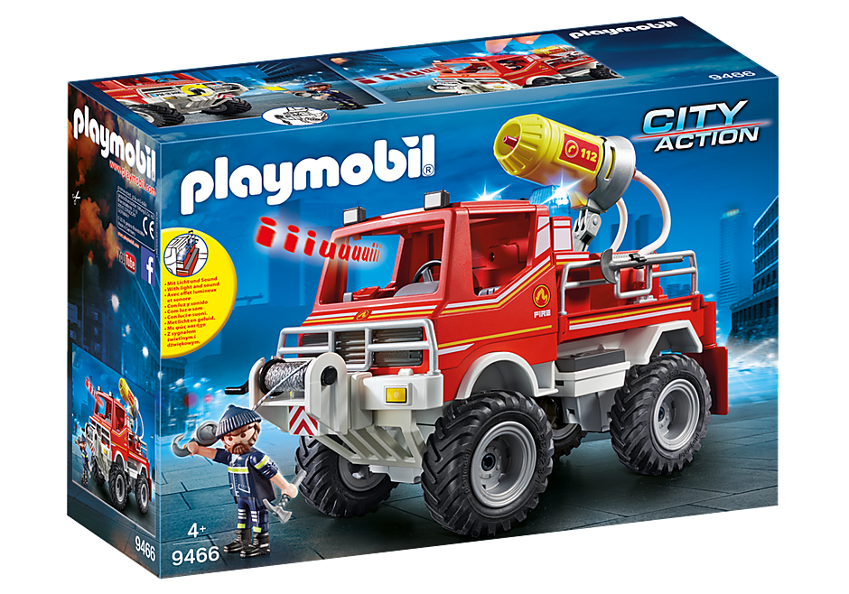 Playmobil 9466 Off Road Fire Truck