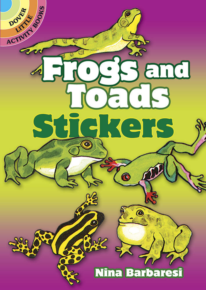 Frogs Toads Stickers