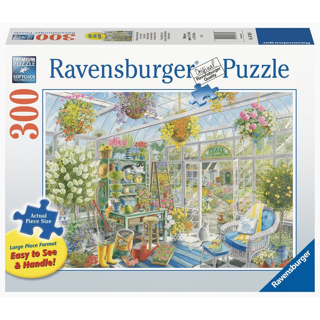 Greenhouse Heaven 300 Piece Large Format Jigsaw Puzzle