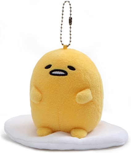 Gund 4060715 Gudetama Sitting Up Keychain