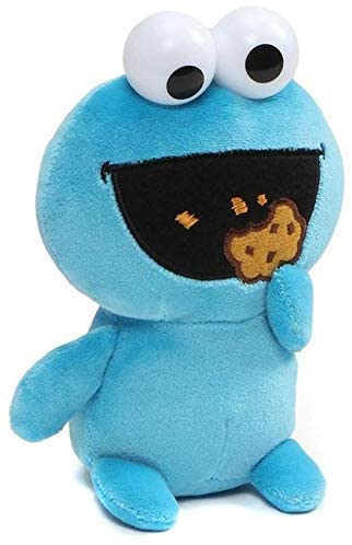 Gund Cookie Monster Emoji Plush