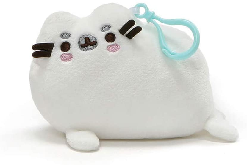 Gund 4061353 Pusheen Seal Backpack Clip