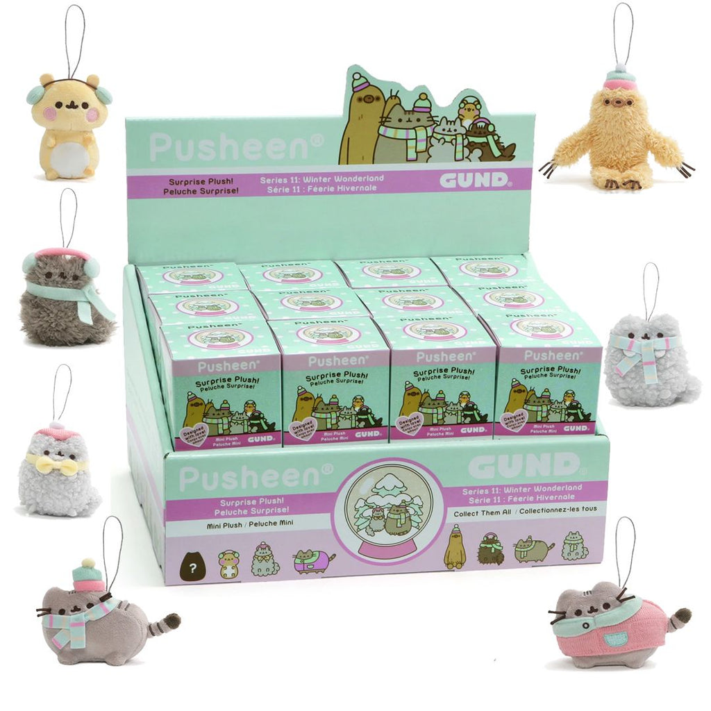 Gund 6052105 Pusheen Winter Wonderland Blind Box