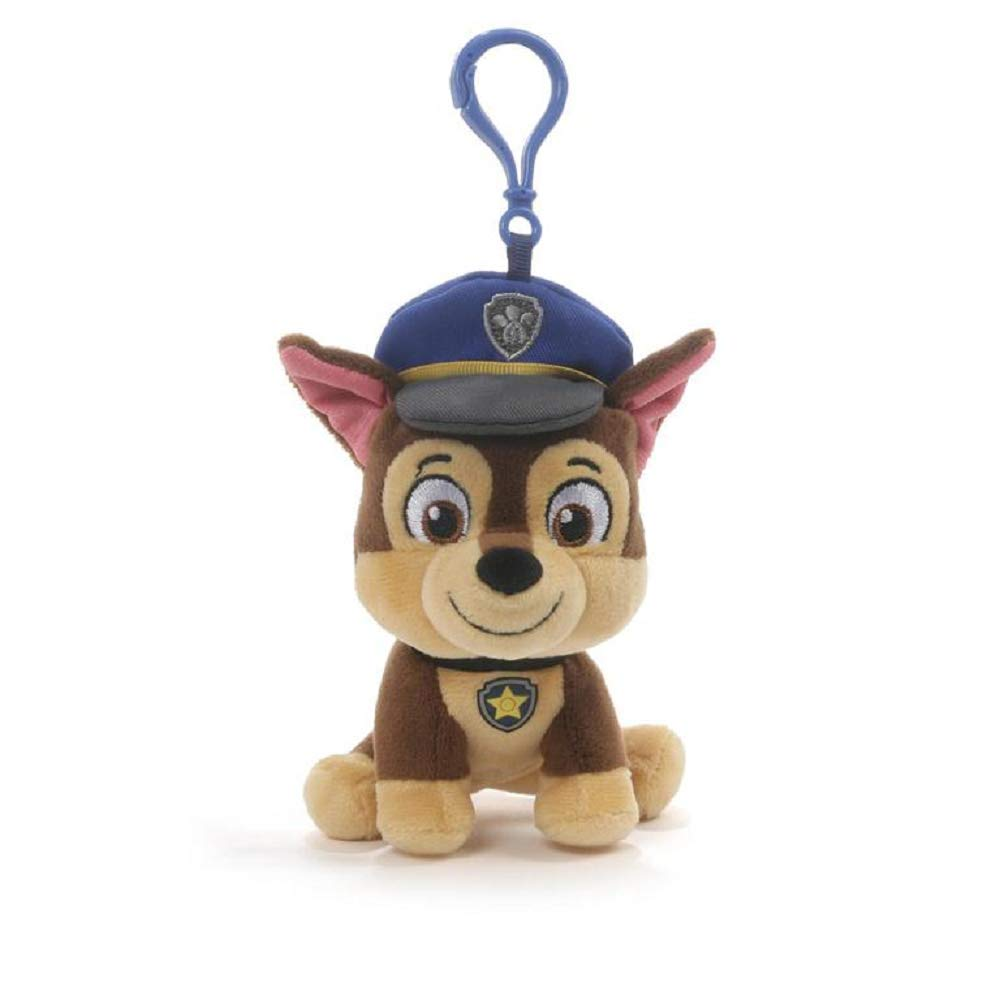 Gund Paw Patrol Chase Backpack Clip Plush