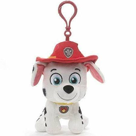 Gund Paw Patrol Marshall Marcus Backpack Clip Plush