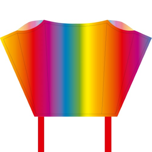 Pocket Rainbow Sleddy Kite