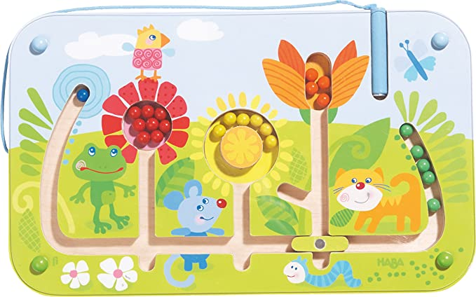 Haba 301472 Flower Maze Magnetic Game