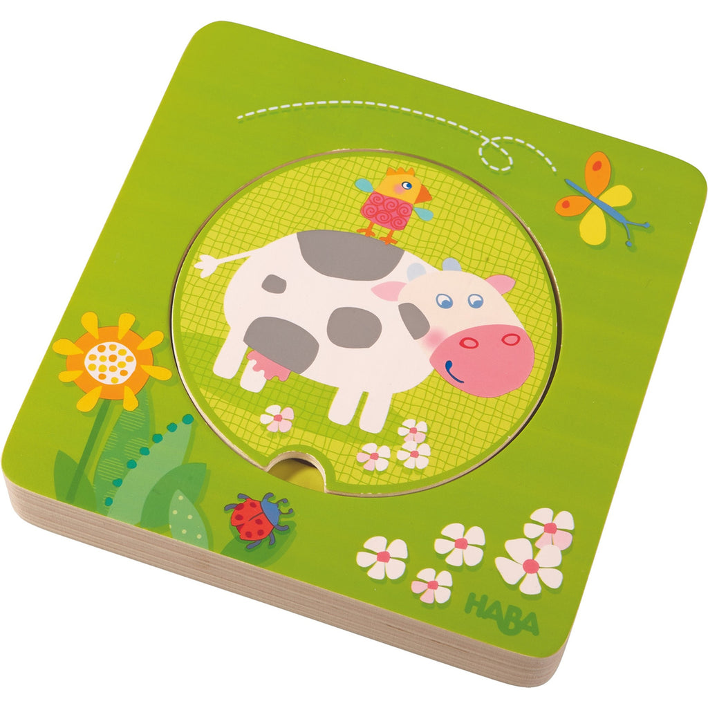 Haba 301647 On The Farm Wooden Puzzle