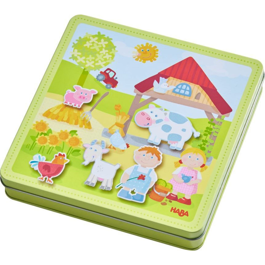 Haba 301951 Peter & Pauline's Farm Magnetic Game