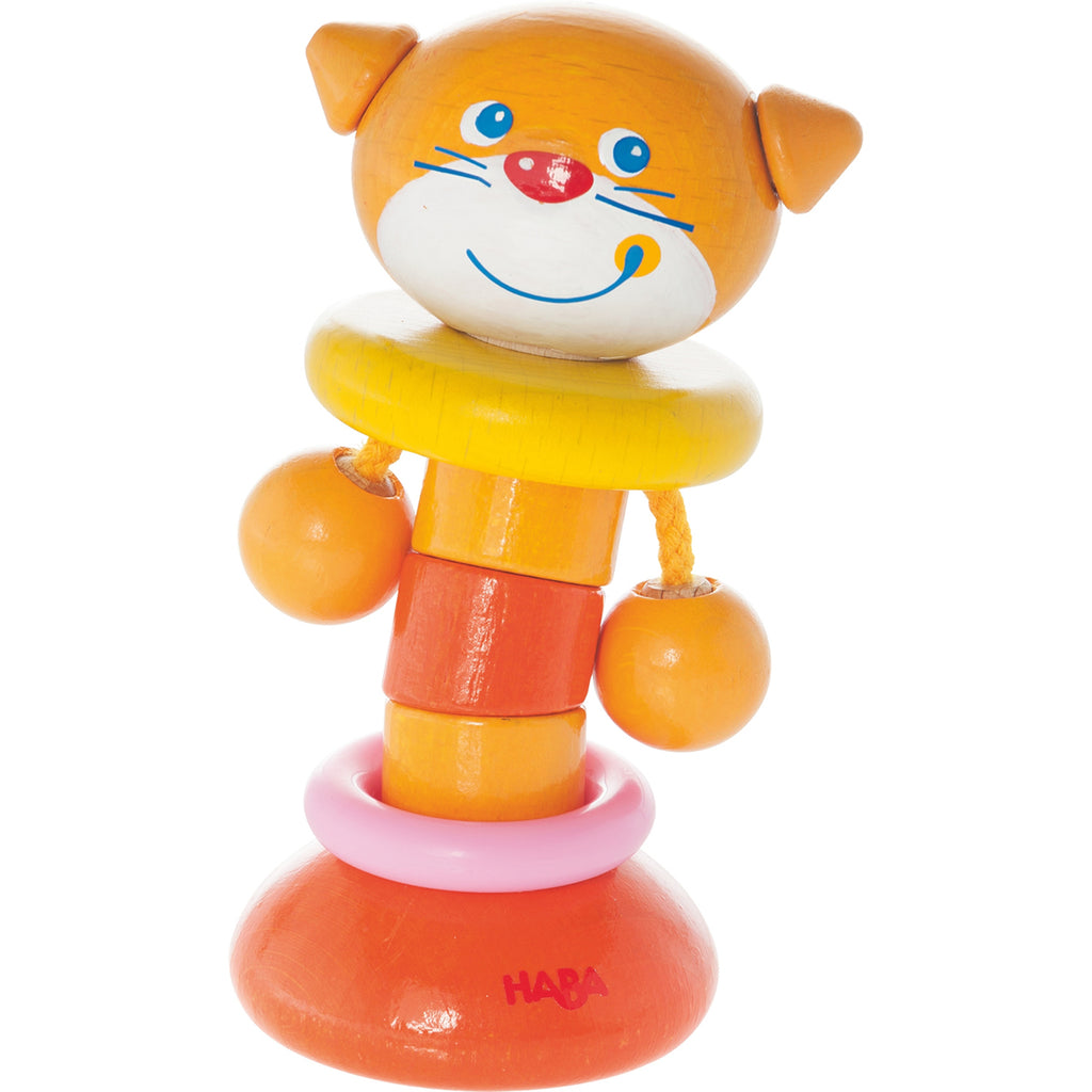 Haba 302942 Clutching Toy Clatter Cat