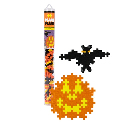 Plus Plus Halloween Tube