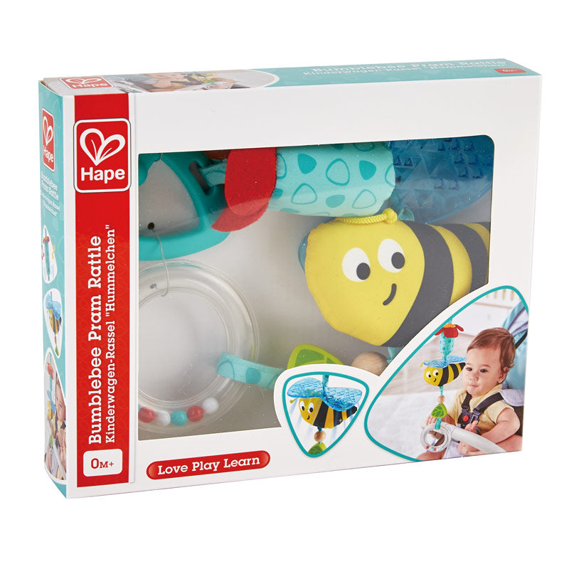 Hape E0022 Bumble Pram Rattle