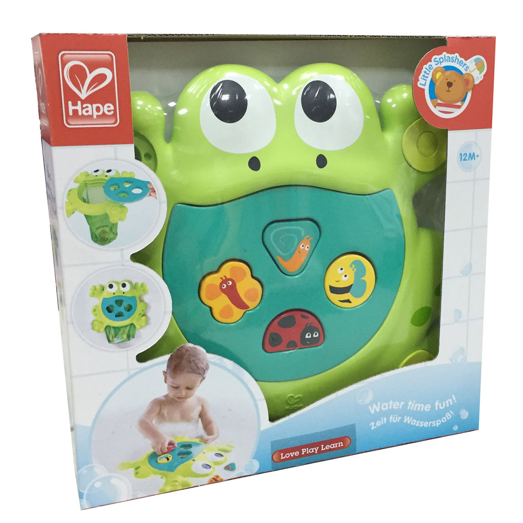 Hape E0209 Feed Me Bath Frog