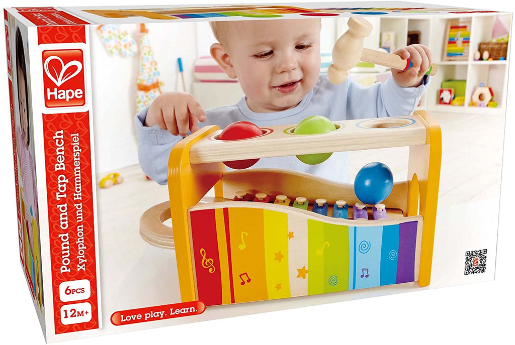 Hape E0305 Pound and Tap Bench