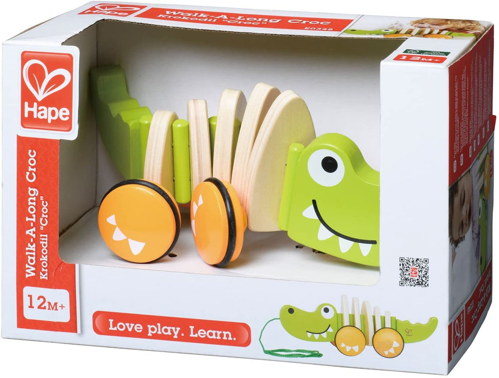 Hape E0348 Walk a Long Croc