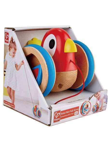 Hape E0360 Baby Bird Pull Along