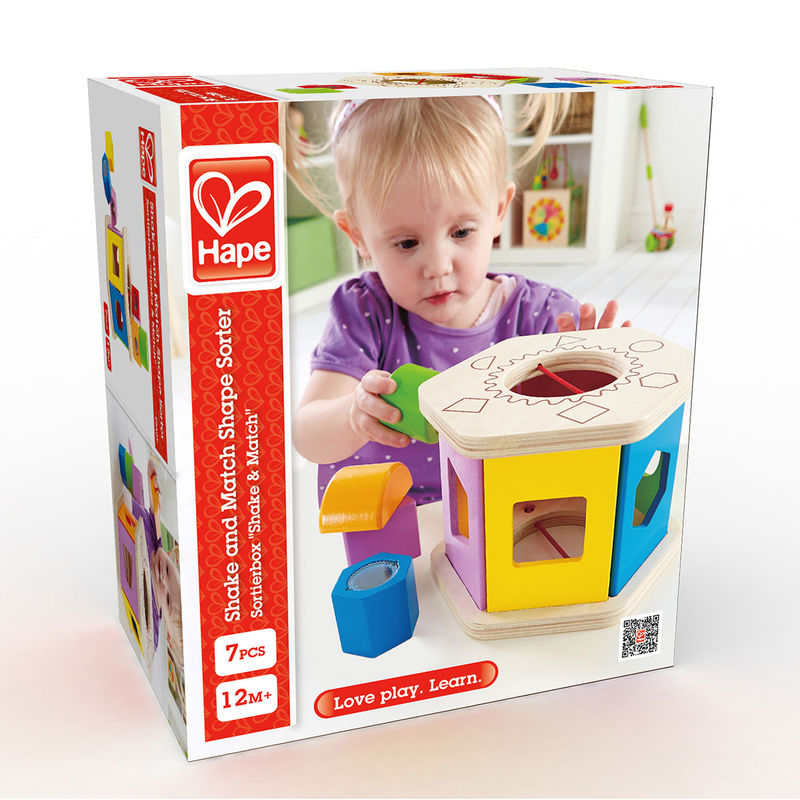Hape E0407 Shake and Match Shape Shorter