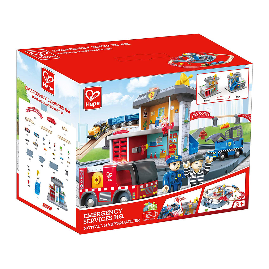 Hape E3736 Emergency Services HQ