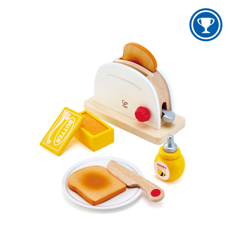 Hape E3148 Pop Up Toaster Set