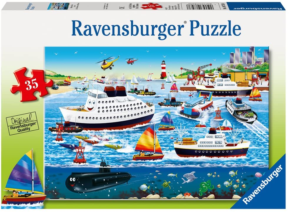 Happy Harbor 35 piece Jigsaw Puzzle