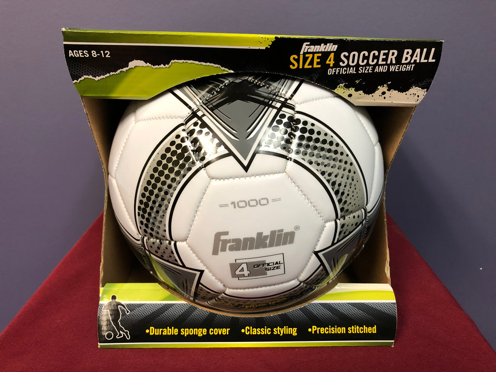 Franklin Size 4 Comp Soccer Ball