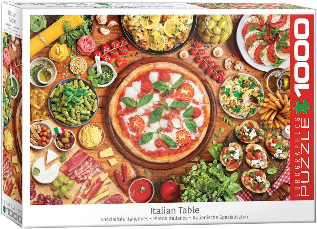 Eurographics Italian Table 1000 Piece Jigsaw Puzzle